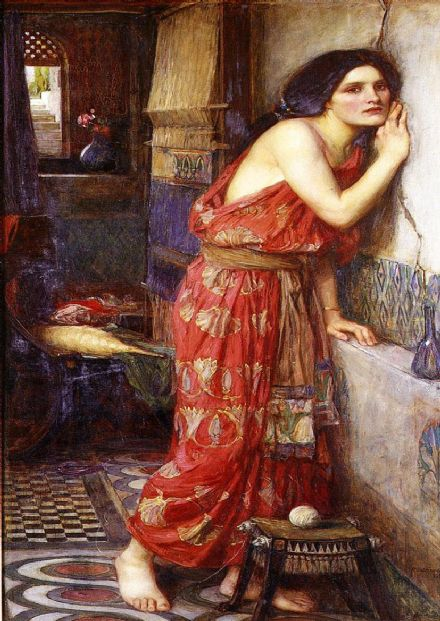 Waterhouse, John William: Thisbe. Fine Art Print/Poster. Sizes: A4/A3/A2/A1 (00844)